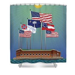 Fort Sumter, Charleston, Sc Shower Curtain