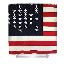 Fort Sumter Flag Shower Curtain
