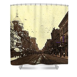 Fort Wayne Indiana 1913 Shower Curtain