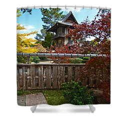 Fort Worth Japanese Gardens 2771a Shower Curtain