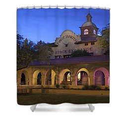 Fort Worth Livestock Exchange Shower Curtain