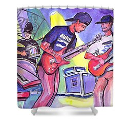 Forty Oz To Freedom Shower Curtain