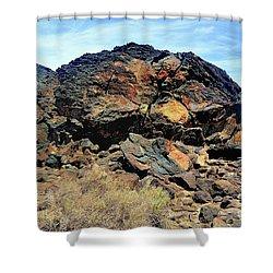 Fossil Falls Shower Curtain