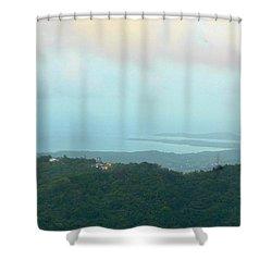 Foto Desde El Yunque Rain Forest Shower Curtain