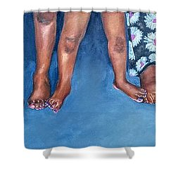 Foundation Shower Curtain