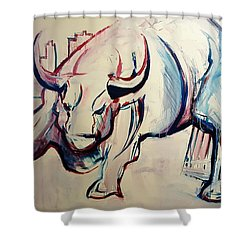 Foundation Of Finance Shower Curtain by John Jr Gholson
