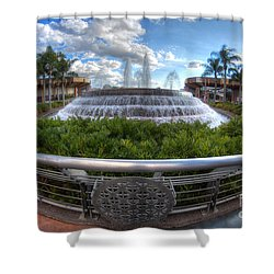 Fountain Of Nations Shower Curtain