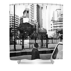 Tinubu Square Environ Shower Curtain