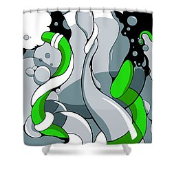 Fountainhead Shower Curtain