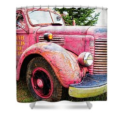 Four Alarm Blaze Shower Curtain