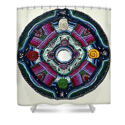 Four Directions Shower Curtain by Arla Patch