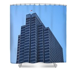 Four Embarcadero Center Office Building - San Francisco Shower Curtain by Matt Harang