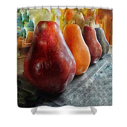 Four Pear Shower Curtain