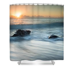 Four Rocks Shower Curtain