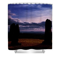 Four Stones Clent Hills Shower Curtain