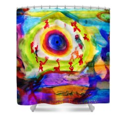 Four Winds By Colleen Ranney Shower Curtain