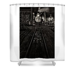 Foureightytwo B And W Version Shower Curtain