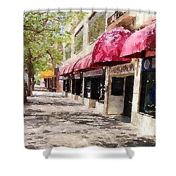 Fourth Avenue Shower Curtain by Donald S Hall