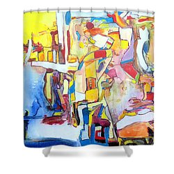 Fourth World Ladders Shower Curtain
