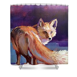 Fox 1 Shower Curtain