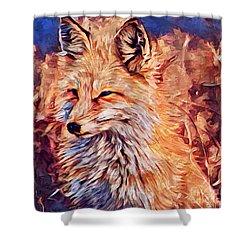 Fox 2 Shower Curtain