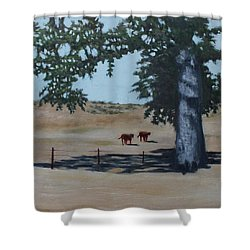 Fox Canyon Ranch Shower Curtain
