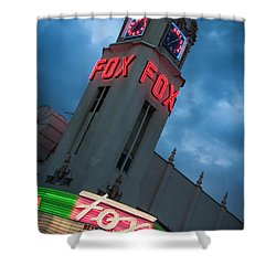 Fox Theater Merle Haggard Tribute Shower Curtain