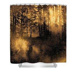 Foxfire Shower Curtain