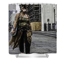 Foxy Lady, New Orleans, Louisiana Shower Curtain