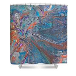 Fp Turquoise Shower Curtain