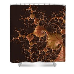 Fractal Alchemy Shower Curtain by Susan Maxwell Schmidt