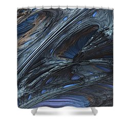 Fractal Structure 002 Shower Curtain