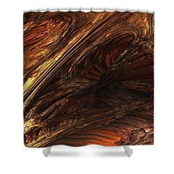 Fractal Structure 003 Shower Curtain