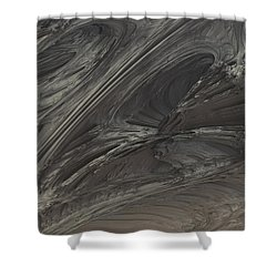 Fractal Structure 004 Shower Curtain