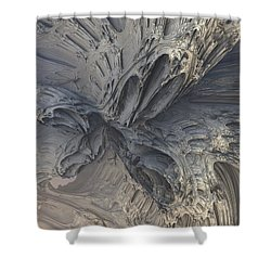Fractal Structure 006 Shower Curtain