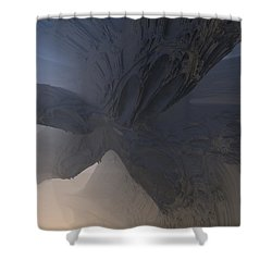 Fractal Structure 007 Shower Curtain