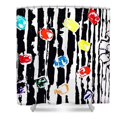 Fractured Light  Shower Curtain