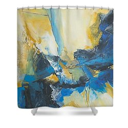 Fragments Of Time Shower Curtain by Glory Wood
