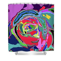 Fragrance Of Color  Shower Curtain