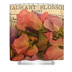 Fragrant Blossoms Shower Curtain