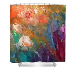 Fragrant Breeze Shower Curtain by Heather Roddy