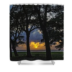 Framed Shower Curtain