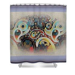 Framed Fantasy Shower Curtain