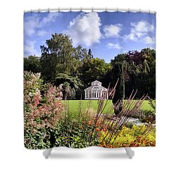 Framed Gazebo Shower Curtain