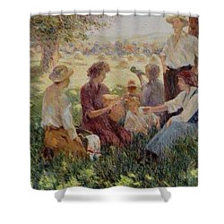 France Country Life  Shower Curtain
