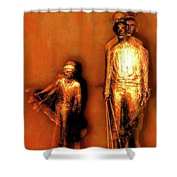 Francis D. Ouimet And Caddy Shower Curtain