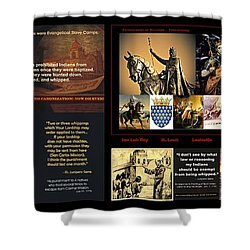 Franciscans And French Dauphins And Freemasons Oh Why? Shower Curtain