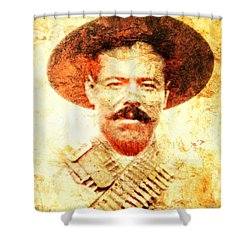 Francisco Villa Shower Curtain