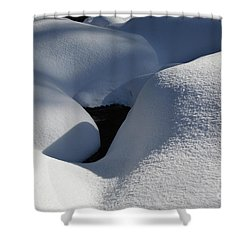 Franconia Brook - White Mountains New Hampshire  Shower Curtain by Erin Paul Donovan