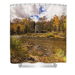 Franconia Iron Works Shower Curtain